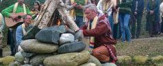 Ein Schamane des Samenvolkes besucht Damanhur
