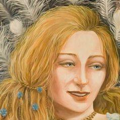 SIF, mit goldenen Haaren