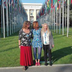 Damanhur in Genf bei den Vereinten Nationen