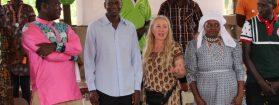 Eine Konferenz von GEN Afrika in Ghana
