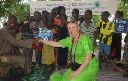 Die Kooperation Damanhur-Senegal: Unterstützung für Guedè